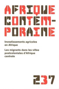 Afrique contemporaine 2011/1