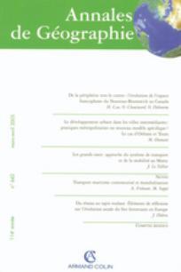 Annales de géographie 2005/1