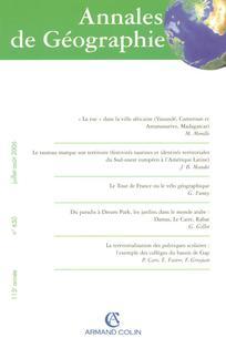 Annales de géographie 2006/4