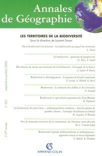 Annales de géographie 2006/5