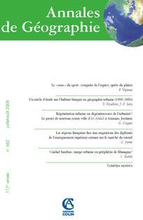 Annales de géographie 2008/4