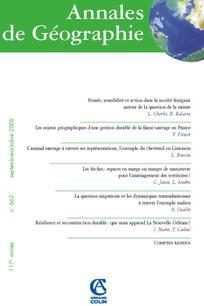 Annales de géographie 2008/5