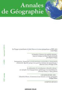 Annales de géographie 2013/2