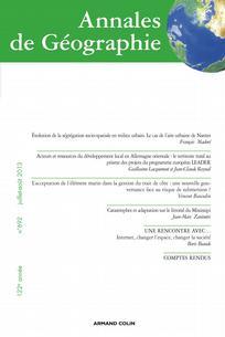 Annales de géographie 2013/4