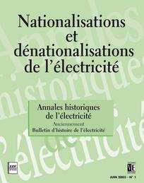 La nationalisation de l 39 lectricit en france en 1946 le probl me de l - Generer de l electricite ...