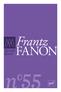 couverture de Frantz Fanon