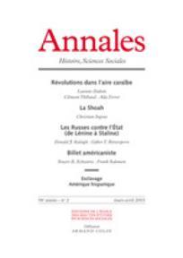 Annales. Histoire, Sciences Sociales 2003/2