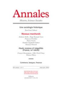 Annales. Histoire, Sciences Sociales 2003/3