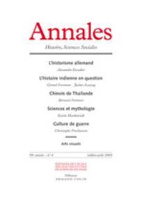 Annales. Histoire, Sciences Sociales 2003/4