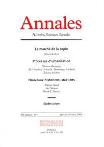 Annales. Histoire, Sciences Sociales 2004/1