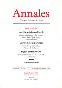 Annales. Histoire, Sciences Sociales 2004/5