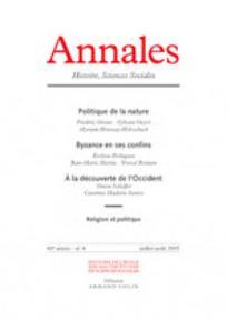 Annales. Histoire, Sciences Sociales 2005/4
