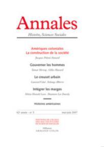 Annales. Histoire, Sciences Sociales 2007/3