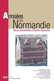 Annales de Normandie 2010/1