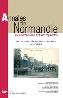 Annales de Normandie 2010/2