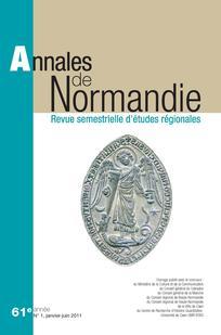 Annales de Normandie 2011/1