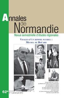 Annales de Normandie 2012/1