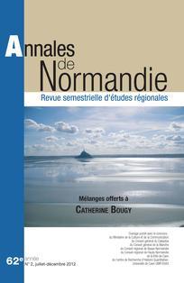 Annales de Normandie 2012/2