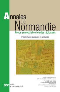 Annales de Normandie 2015/1
