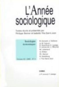 L'Année sociologique 2005/2
