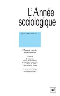 L'Année sociologique 2013/1