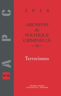 Archives de politique criminelle