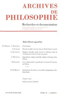 Dissertation fondation connaissance selon descartes