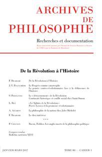 Archives de Philosophie