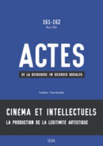Actes de la recherche en sciences sociales 2006/1