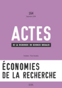 Actes de la recherche en sciences sociales 2006/4