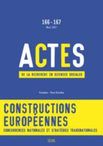 Actes de la recherche en sciences sociales 2007/1