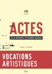 Actes de la recherche en sciences sociales 2007/3