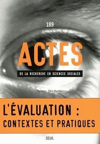 Actes de la recherche en sciences sociales 2011/4