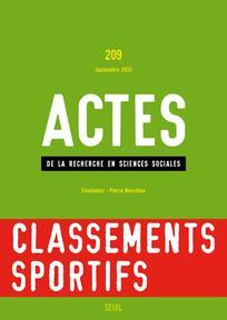 Actes de la recherche en sciences sociales 2015/4