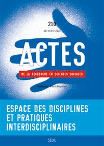 Actes de la recherche en sciences sociales 2015/5