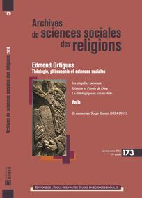 Archives de sciences sociales des religions