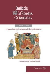 Bulletin d'études orientales