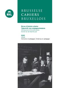 Cahiers Bruxellois – Brusselse Cahiers 2015/1