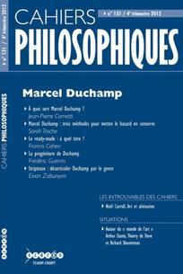 Cahiers philosophiques 2012/4