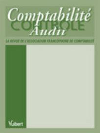 Comptabilité - Contrôle - Audit 1998/2