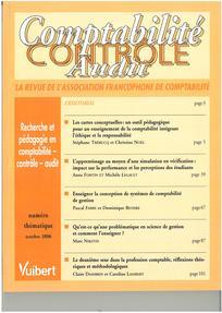 Comptabilité - Contrôle - Audit 2006/3