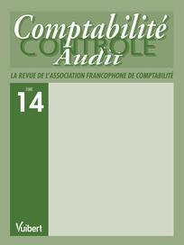 Comptabilité - Contrôle - Audit 2008/1