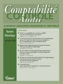 Comptabilité - Contrôle - Audit 2008/3