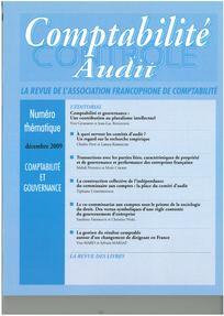 Comptabilité - Contrôle - Audit 2009/3