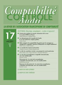 Comptabilité - Contrôle - Audit 2011/1