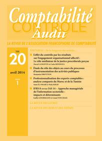 Comptabilité - Contrôle - Audit 2014/1
