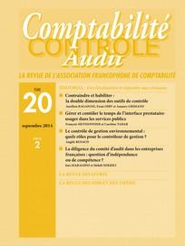 Comptabilité - Contrôle - Audit 2014/2
