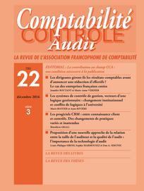 Comptabilité - Contrôle - Audit
