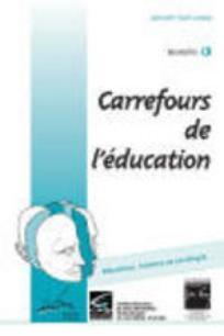 Carrefours de l'éducation 2002/1