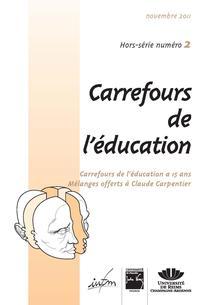 Carrefours de l'éducation 2011/4